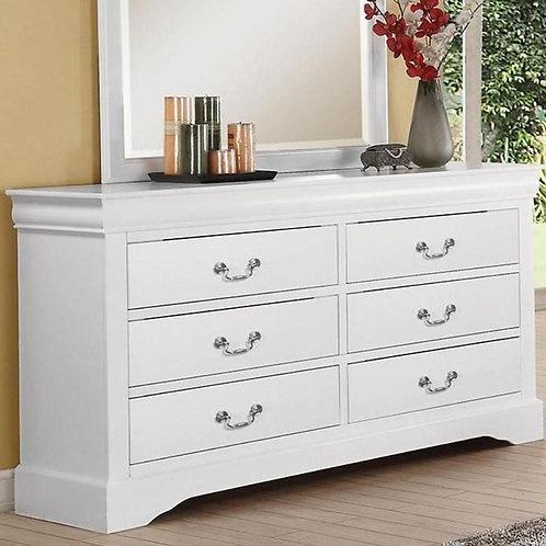 Louis Philippe All Dresser White