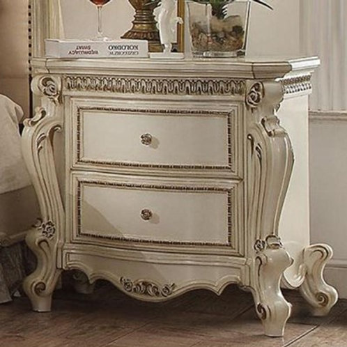 Picardy All Antique Pearl Finish Nightstand