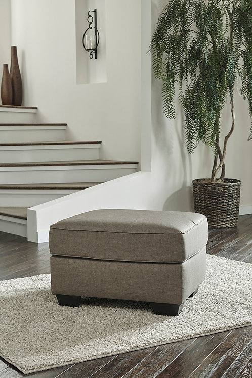 Calicho Angel Cashmere Contemporary Ottoman