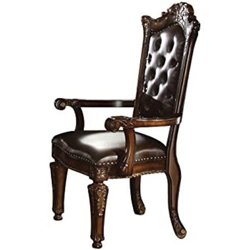 Vendome All Arm Chair PU/Cherry Finish