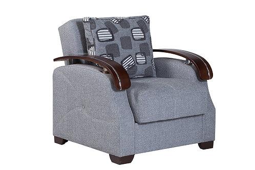 Diva Capetown Rock Gray Fabric