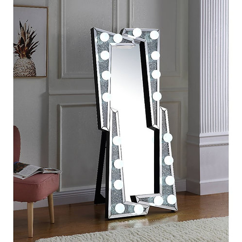 All Noralie Wall Decor - 97757 - Glam - LED Light, Glass Mirror