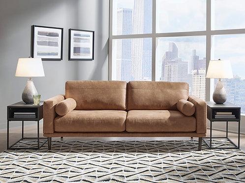 Angel Arroyo Sofa Caramel Upholstery