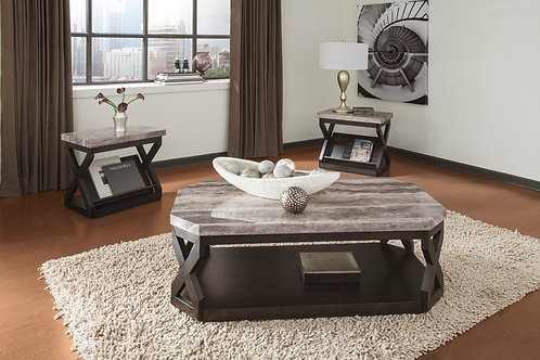 Radilyn Angel Coffee and 2 End Tables