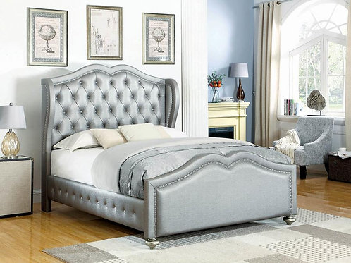 Belmont Cali Tufted Upholstered Full Bed