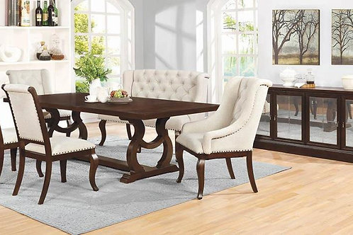 Brockway Cali Trestle Dining Table