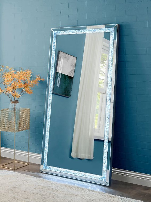 All Noralie LED Mirrored & Faux Diamonds - 97600 Wall Accent Mirror