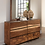 Thumbnail: Cali Winslow Contemporary Dresser in Smokey Walnut and Coffee Bean