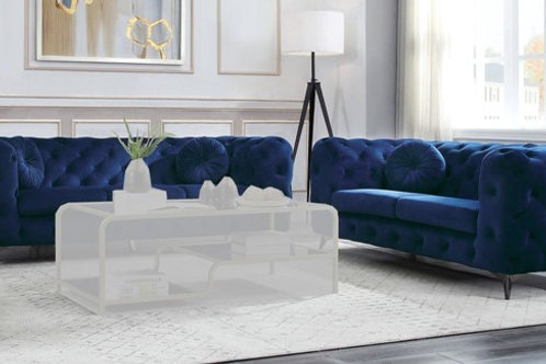 Atronia All Sofa Blue Fabric
