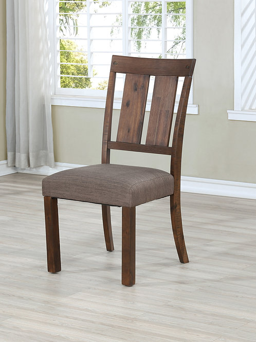 Wire Milt Brown Side Chair