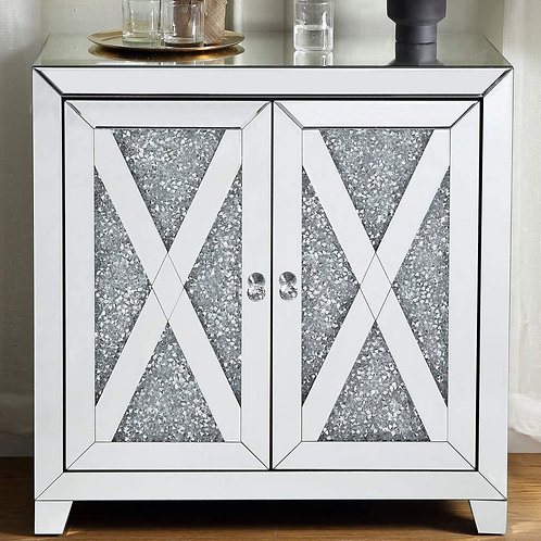Glam All 97646 Mirrored Cabinet
