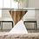 Thumbnail: BIMA Imprad Glass/White-Natural Tone Dining Table
