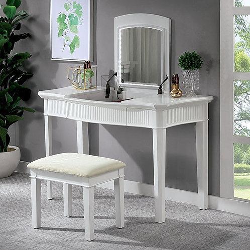 Stina Imprad White / Ivory Vanity Set