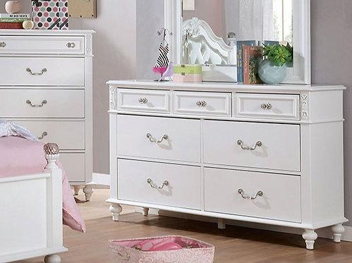 BELVA Imprad White Dresser