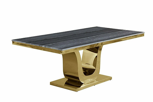D12 Best Marble Top / Gold Base Table
