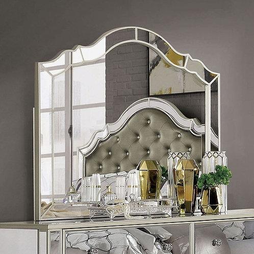 Imprad Eliora Silver Glam Mirrored Mirror