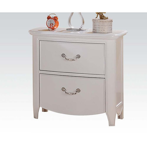 Cecilie All Nightstand White