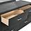 Thumbnail: Cali Melody Contemporary Plush Gray Matte Dresser