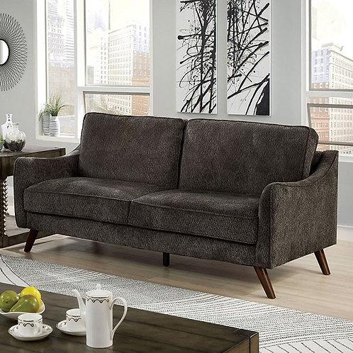 MAXIME Imprad Dark Gray Chenille Sofa