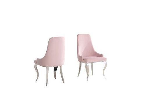 Antoine Cali Blush Pink Side Chair