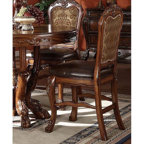 All Dresden Counter Height Chair PU & Cherry Oak
