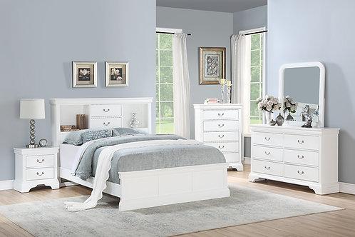 White Bed Port 9422