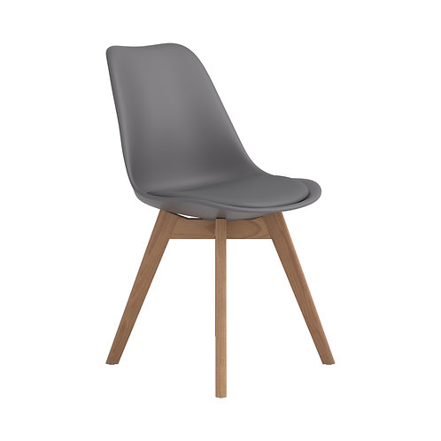 Breckenridge Cali Upholstered Side Chair Grey