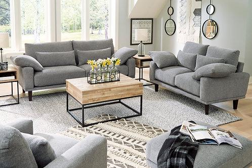 Baneway Angel Gray Contemporary Sofa