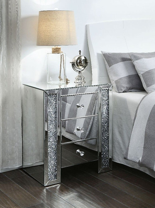 Glam All 97640 Mirrored Stand
