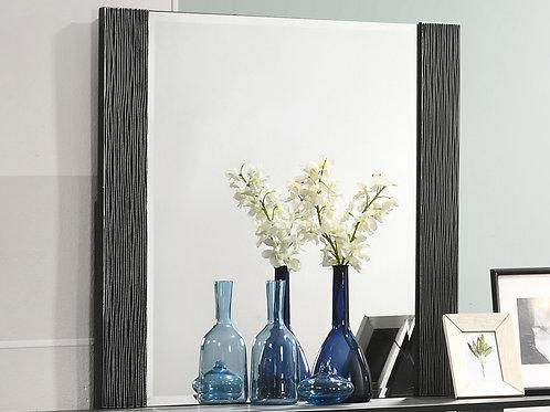 Blacktoft Cali Rectangle Dresser Mirror Black