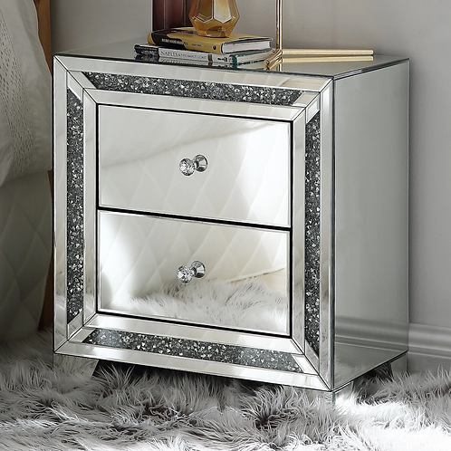 Glam All 97647 Mirrored Stand