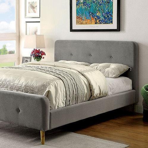 BARNEY Imprad Gray Bed