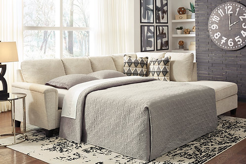 Abinger Angel Natural Contemporary Sectional Sleeper