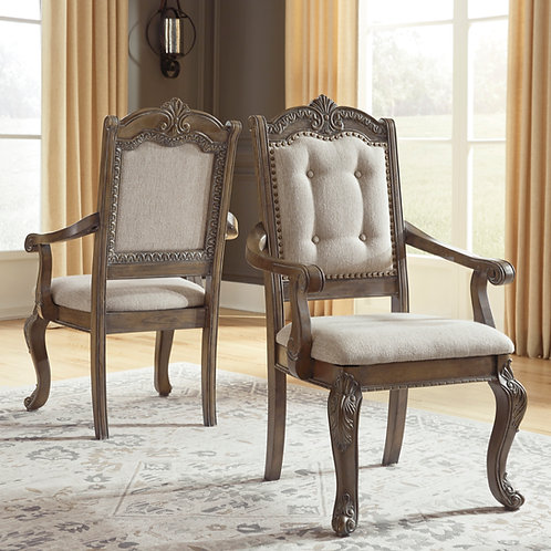 Charmond Angel Brown Arm Chair