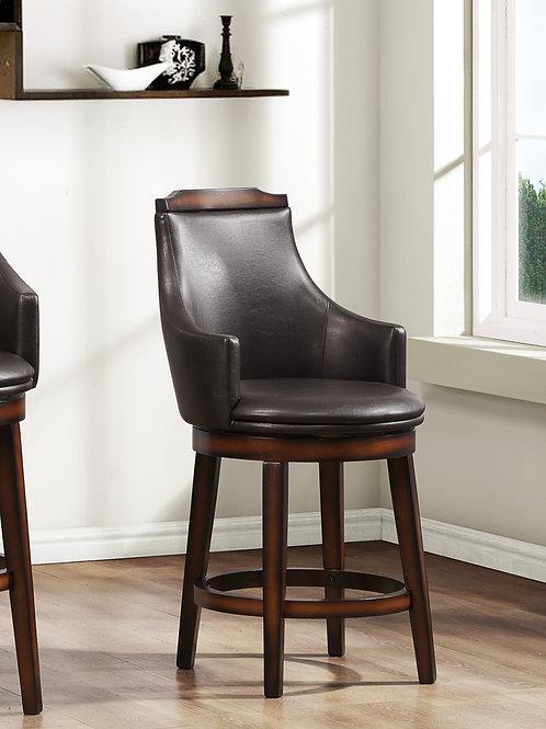 Bayshore Henry Counter Height Swivel Chair