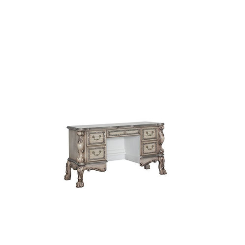 Dresden All Vanity Desk Vintage Bone White