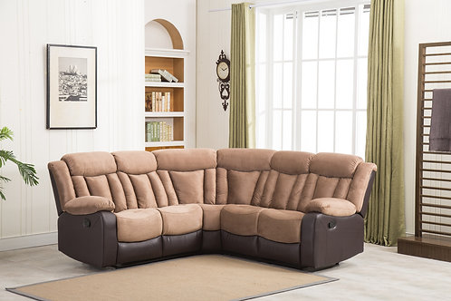 8007 Milt Tan Reclining Sectional