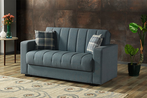 Diva SOHO PRIME Light Blue Loveseat Sleeper