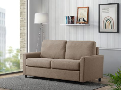 All 57225 ZENAS Beige Fabric Sleeper Sofa