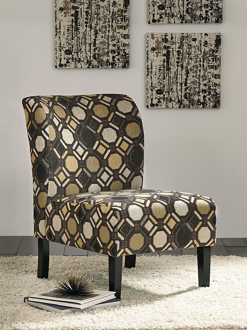 Tibbee Angel Pebble Fabric Contemporary Accent Chair