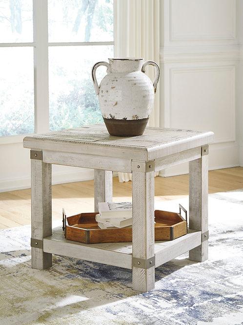 Carynhurst Angel Rectangular End Table