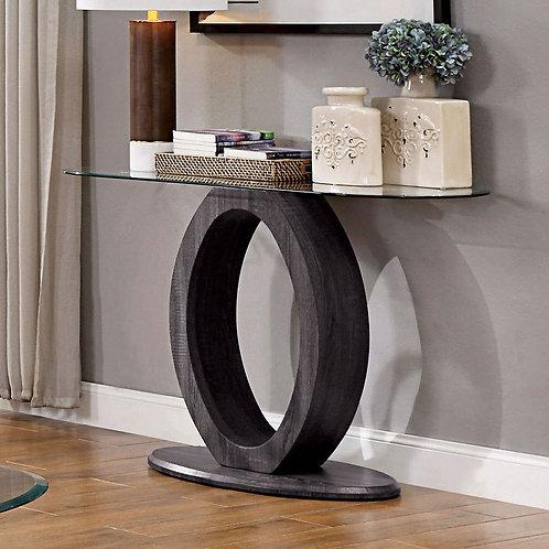LODIA Imprad Gray Glass Sofa Table