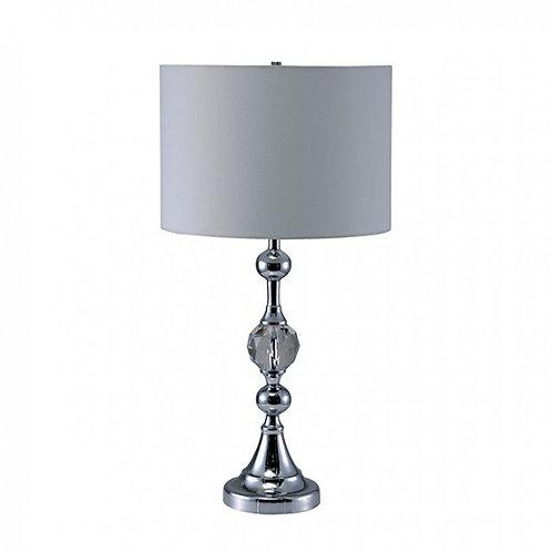 Emi Imprad White Crystal Table Lamp
