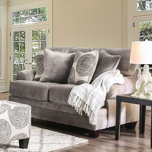 BONAVENTURA Imprad Gray Sofa