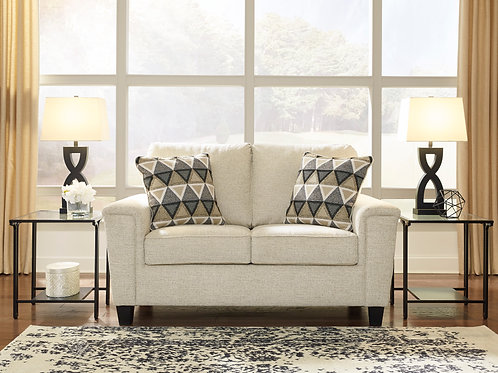 Abinger Angel Natural Contemporary Loveseat