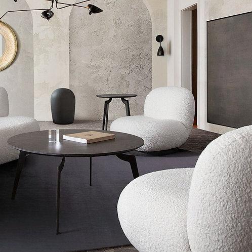 Simone Dream White Swivel Chair