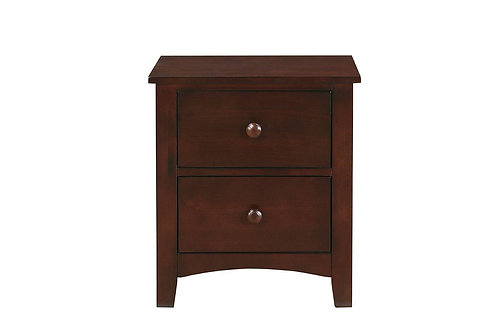 Dark Cherry Nightstand Port 4234