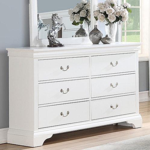 White Dresser Port 4717