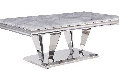 All 87215 Satinka Marble Top Coffee Table