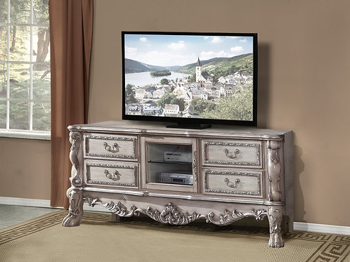 Dresden All TV Console Vintage Bone White